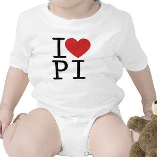 I LOVE PI T-SHIRTS