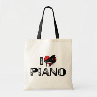 I Love Piano Bags