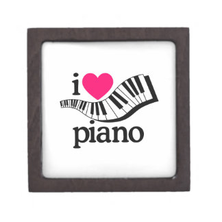 I Love Piano/Keyboard Gift Box