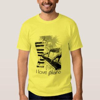 I love piano t shirts