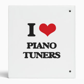I love Piano Tuners Vinyl Binder