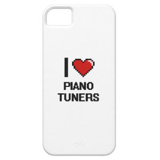 I love Piano Tuners iPhone 5 Cover