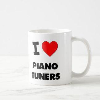 I Love Piano Tuners Coffee Mugs