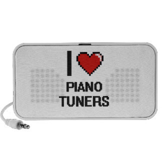 I love Piano Tuners Travelling Speaker