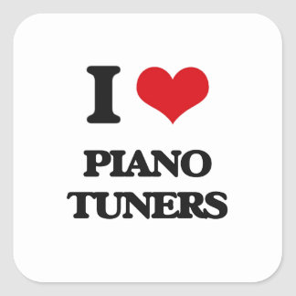 I love Piano Tuners Sticker