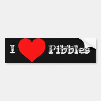 I love Pibbles Bumper Sticker