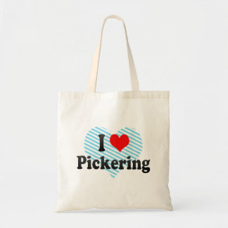 I Love Pickering, Canada Tote Bag
