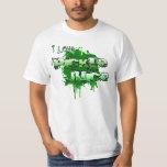 I Love Pickle Juice Splatter T-Shirt