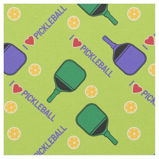 "- Custom Clear Acrylic Keyrings 2 Pickleball Marketplace ""I Love Pickleball"""