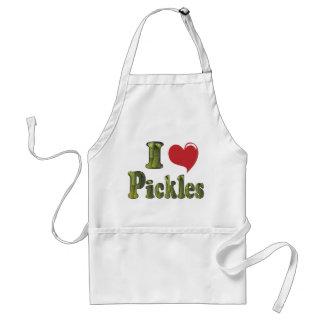 I Love Pickles Apron