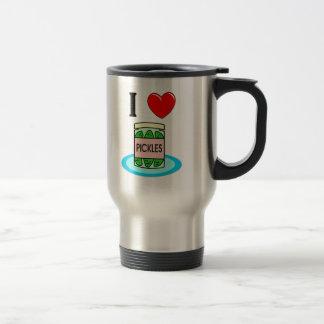 I Love Pickles Travel Mug