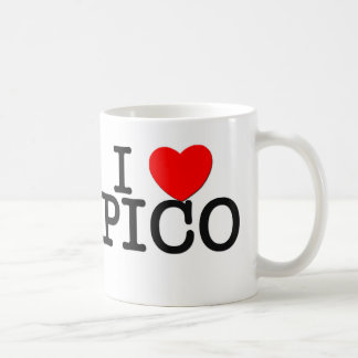 I Love Pico Massachusetts Coffee Mug