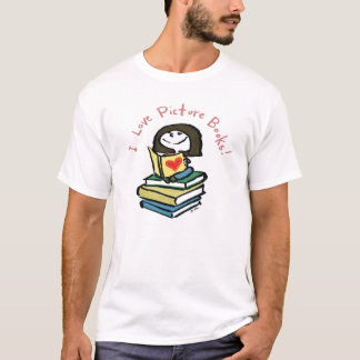 I Love Picture Books t-shirt