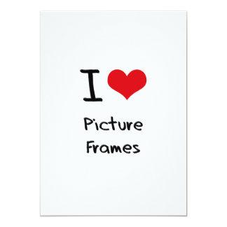 I Love Picture Frames Custom Invitation