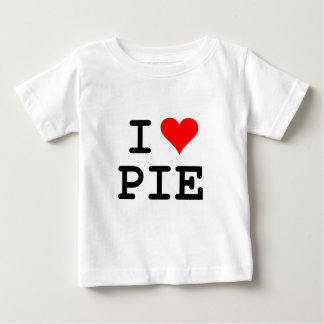 I love pie (black lettering) baby T-Shirt
