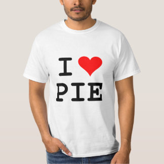 I love pie (black lettering) T-Shirt