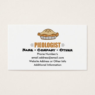 I Love Pie Business Card