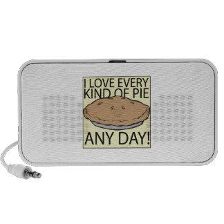 I Love Pie iPod Speakers
