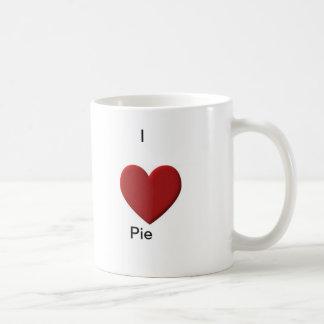 I Love Pie items Classic White Coffee Mug