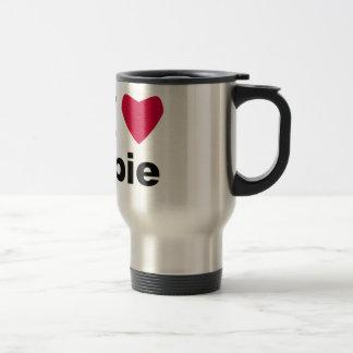 I Love Pie 15 Oz Stainless Steel Travel Mug