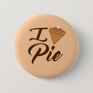 I Love Pie Pinback Button