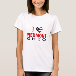 I love Piedmont, Ohio T-Shirt