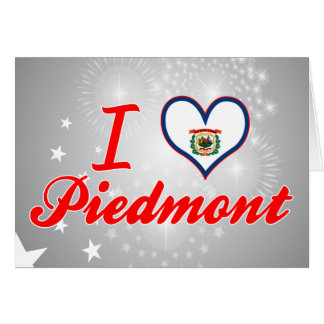 I Love Piedmont, West Virginia Greeting Card