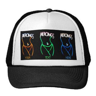 I Love Piercings - Ladies Silhouette Hat