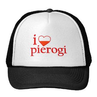 I Love Pierogi Mesh Hats