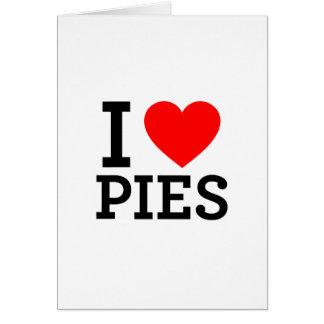 I Love Pies Card