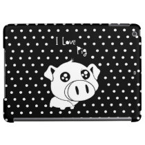 I love pig quote iPad air cover