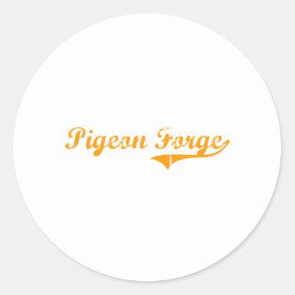 I Love Pigeon Forge Tennessee Round Sticker