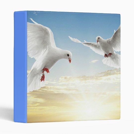 I Love Pigeons Avery Binder