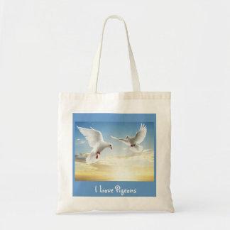 I Love Pigeons Bag