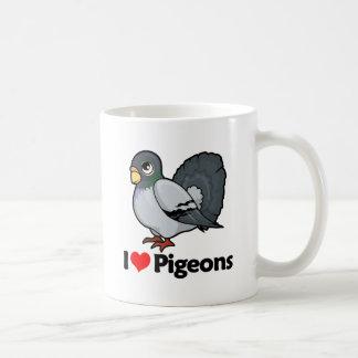 I Love Pigeons Coffee Mug