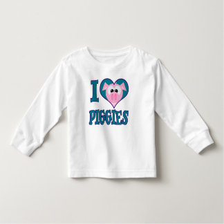 I Love piggies Toddler T-shirt