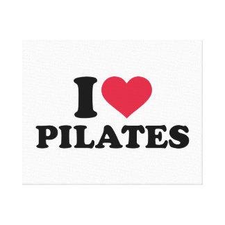 I love Pilates Canvas Print