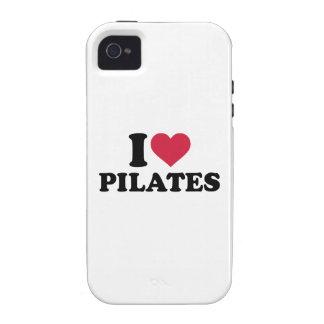 I love Pilates Vibe iPhone 4 Covers