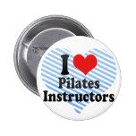 I Love Pilates Instructors Pins