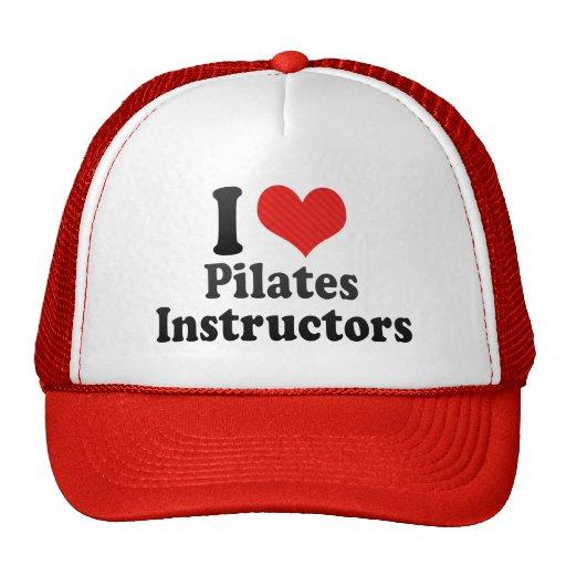 I Love Pilates Instructors Trucker Hat