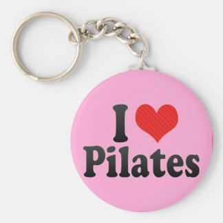 I Love Pilates Keychain