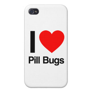 i love pill bugs case for iPhone 4