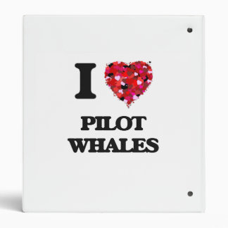 I love Pilot Whales 3 Ring Binders