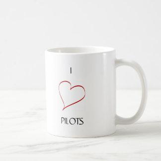 I love pilots mug