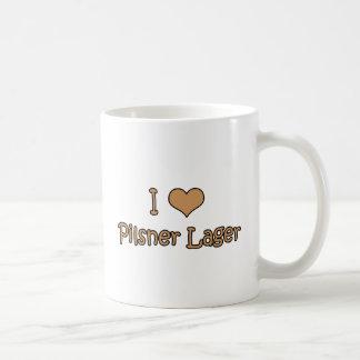 I Love Pilsner Lager Coffee Mug