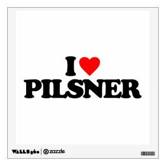 I LOVE PILSNER ROOM GRAPHIC