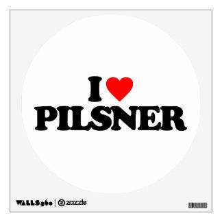 I LOVE PILSNER WALL SKINS