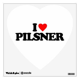 I LOVE PILSNER ROOM GRAPHICS