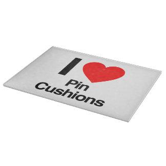 i love pin cushions cutting boards