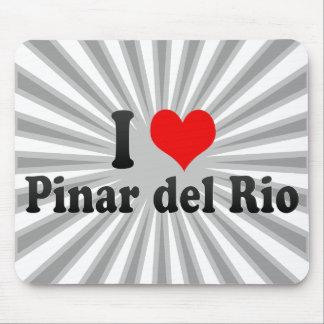 I Love Pinar del Rio, Cuba Mouse Pad